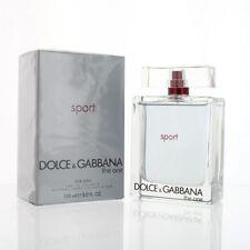 Dolce & Gabbana The One Sport 5.0 Oz Eau De Toilette Dolce & Gabbana NEW Box Men