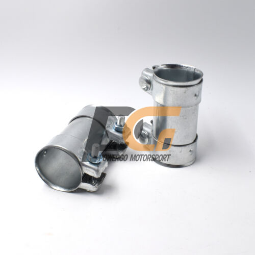 """2.25/"""" 57mm Sleeve Clamp Exhaust Pipe Clamp for Audi//Volkswagen"""