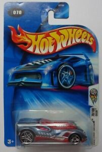 2004 HOT WHEELS COLLECTOR #070 FIRST EDITIONS 70//100 CUL8R BLUE 1:64 3+