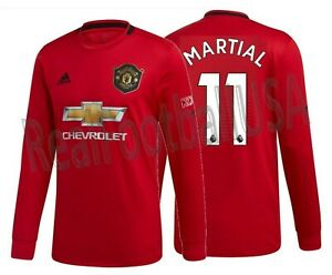 Anthony Martial Manchester UnitedHome Jersey