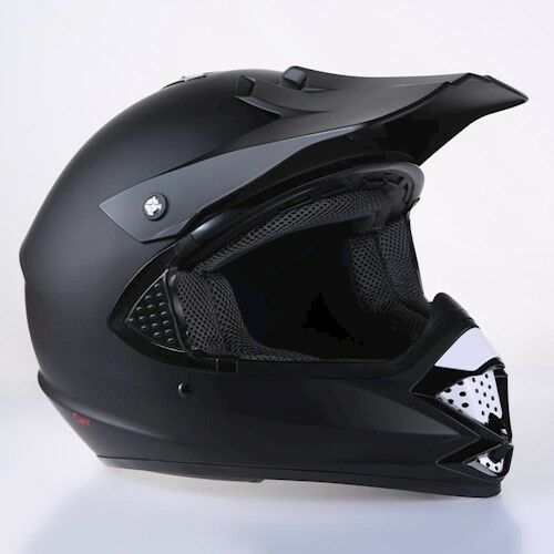 "Motorradhelm Endurohelm Cross Helm Motocrosshelm CMX /""Harrier/"" schwarz S NEU"