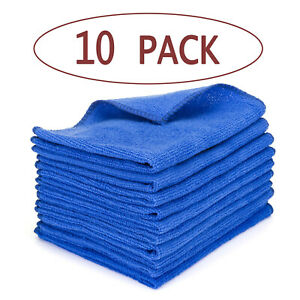 10-x-LARGE-MICROFIBRE-CLEANING-AUTO-CAR-DETAILING-SOFT-CLOTHS-WASH-TOWEL-DUSTER