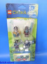 LEGO Chima Set 850910 / Personaggi con Nascondiglio di cristallo - accessori