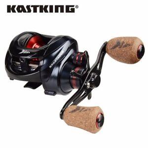 KastKing Spartacus Plus Baitcastrolle Baitcaster Rolle Angeln Bass Hecht Karpfen
