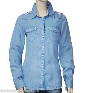 CODE eBay jeans femme by Chemise IKKS taille tencel I S ZzTqpT