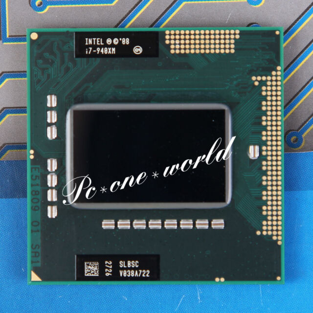100% OK SLBSC Intel Core i7-940XM 2.13 GHz Quad-Core Processor i7 940XM CPU