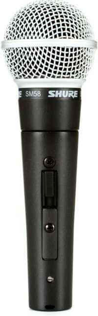 New Shure SM58S Vocal Mic w/ Switch  Authorised DealerBest Deal on eBay!