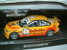 1/43 MINICHAMPS BMW 320i 2004 PRODUCTION CHAMPION CLAUDIA HURTGEN, #1