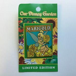 WDW-Our-Disney-Garden-2005-Tinker-Bell-Marigold-LE-2000-Disney-Pin-39374