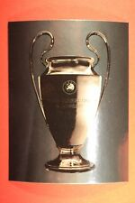 PANINI CHAMPIONS LEAGUE 2007/08 N. 2 THE CUP WITH BLACK BACK MINT!!