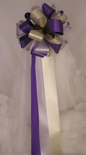 10 x Mariage Pew fin Bows Ready 2 peluches-Le Moins Cher Sur  -toute couleur & quantité