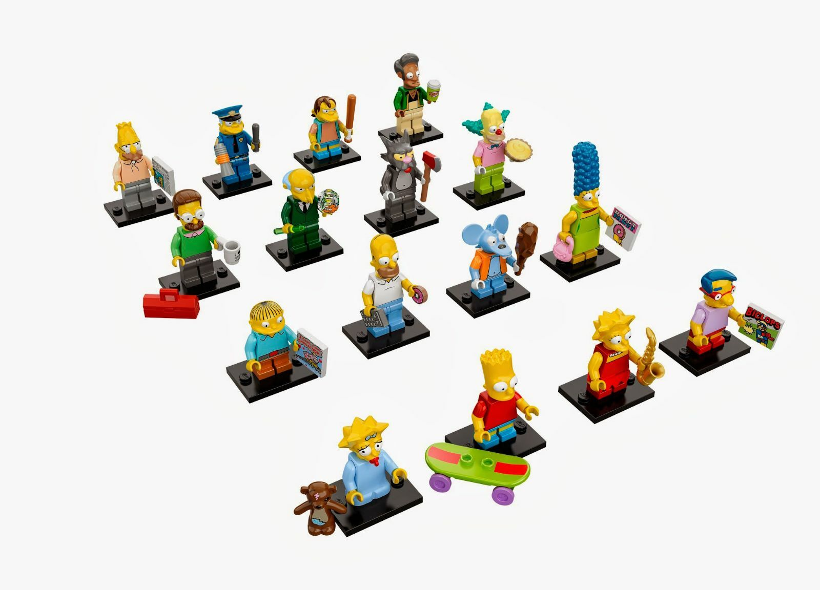 Marca New 16 Set Lego 71005 Minifig Serie 13 Completo