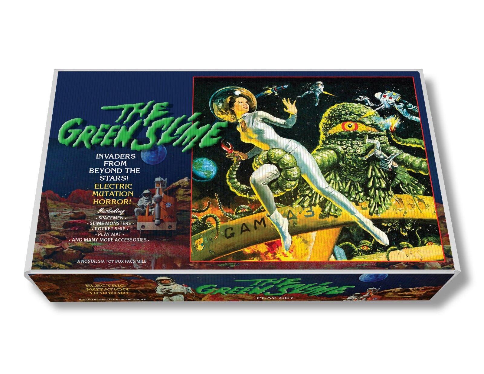 Marx The Green Slime Play Set Box