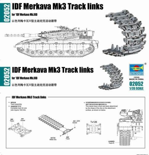 Neu Trumpeter 02052-1:35 IDF Merkava Mk3 Track links