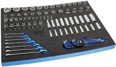 Steckschlüssel Satz 90-tlg Zoll Werkzeug Wagen Set Werkstattwagen Einlage Bgs SorgfäLtig AusgewäHlte Materialien