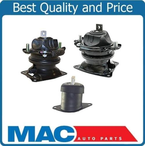 Front /& Rear Electronic Engine Mount 3Pc Kit for Honda Accord 08-12 V6 3.5L