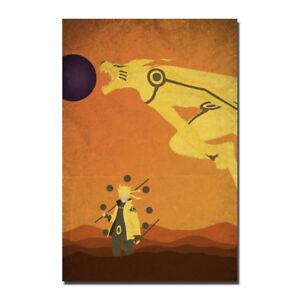 Naruto Japanese Anime TV Series Silk Canvas Poster 13x20 32x48/'/'