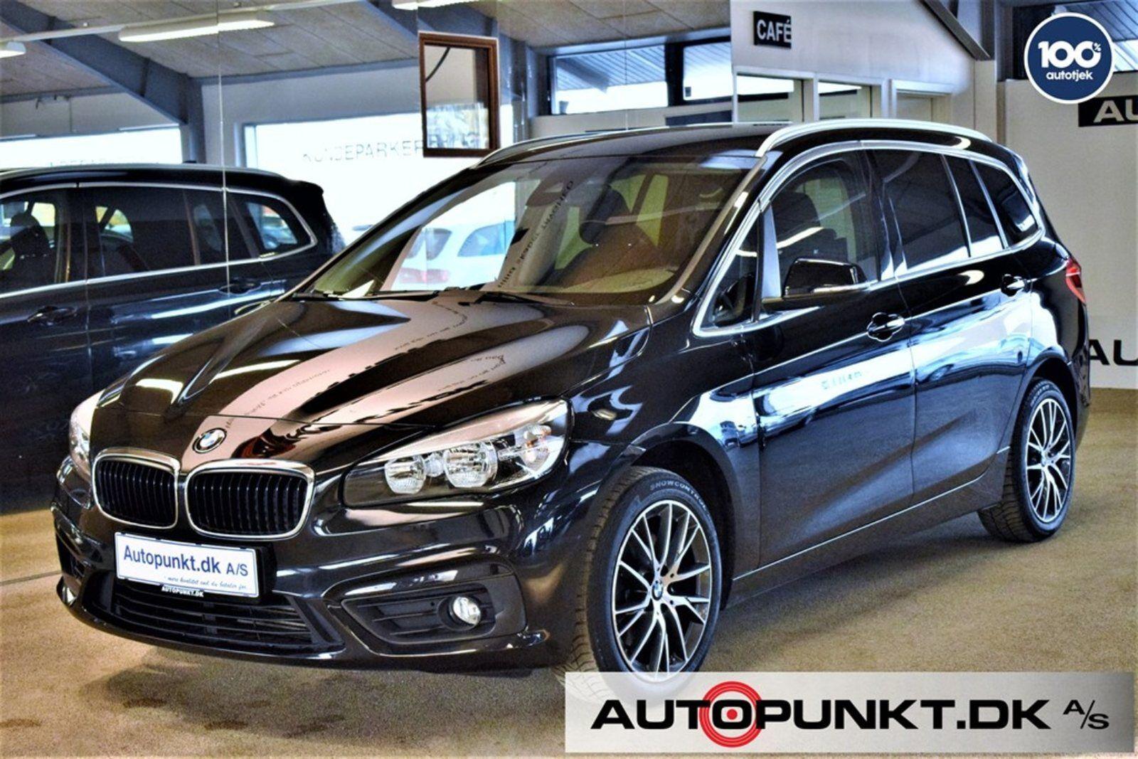 BMW 218i 1,5 Gran Tourer Advantage 7prs 5d - 269.700 kr.