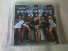 VELVET KISS - TURN THE SPEAKER UP - 2008 PROMO CD SINGLE