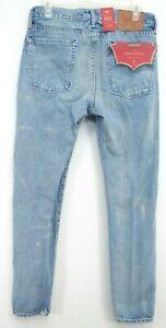 New Levis Mens 510 0797 Cloud Wash Warp Stretch Skinny Fit Denim Jeans 31 x 30