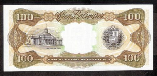 Venezuela UNC Note 100 Bolivares Bs October 1998 P-66g Prefix H8