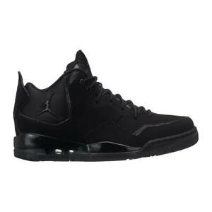 reputable site 0c3d7 460b8 Image is loading Mens-NIKE-JORDAN-COURTSIDE-23-Black-Trainers-AR1000-