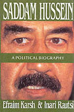 Good, Saddam Hussein: A Political Biography, Rautsi, Inari, Karsh, Efraim, Book