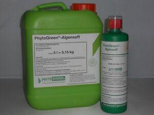 PHYTOGreen - Algensaft, BIO Dünger zur Srärkung aller Pflanzen - 5 l Kanister