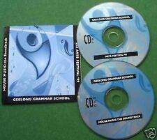 Geelong Grammar School Australia 1999 Arts Festival CD x 2