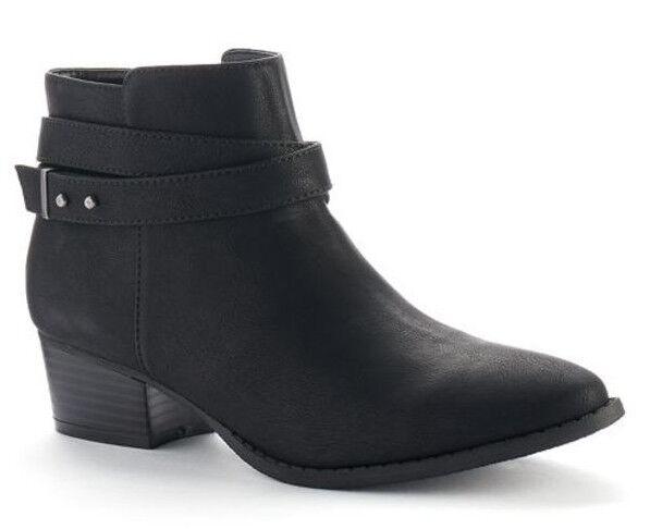 NewNIblueREN CONRAD CONRAD CONRAD 'Belle' Strappy Ankle Bootie BootsBlack6, 6.5, 7, 9, 10 d3ea9a