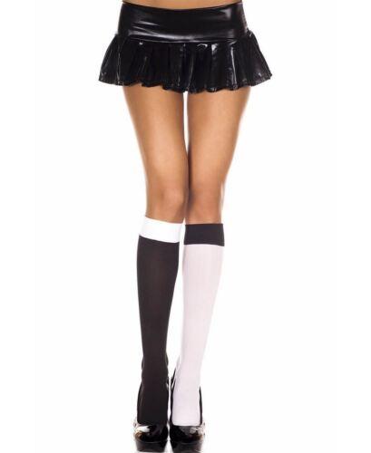 New Music Legs 5744 Jester Opaque Knee High Socks