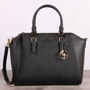 c9f889de9d05 ... Handbags. Bestselling; Top Rated · Michael Kors Ciara 35T8GC6S3L Large  Satchel - Black