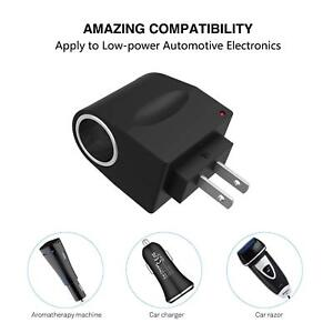 Image Is Loading Ac Wall Outlet To 12v Dc Cigarette Lighter