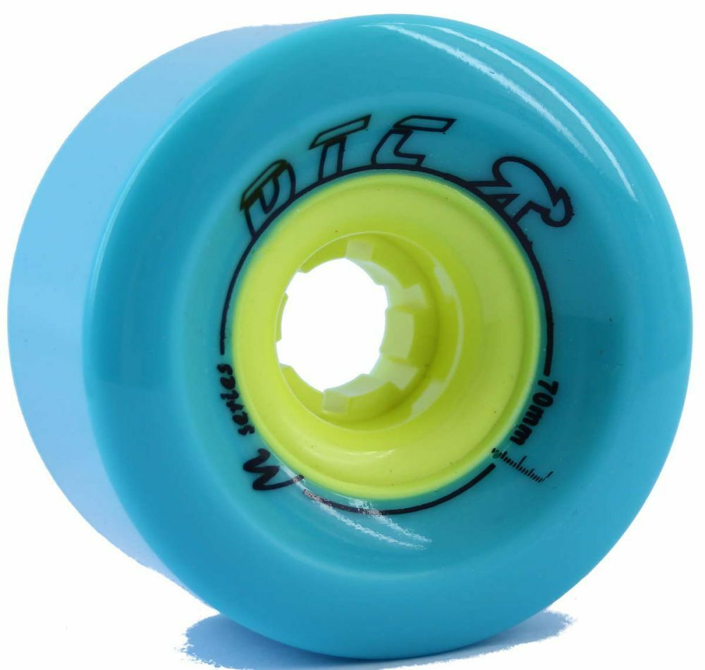 Dtc Wheels M-SERIES 70mm Turquoise Longboard Freeride  Slide Wheels  large discount