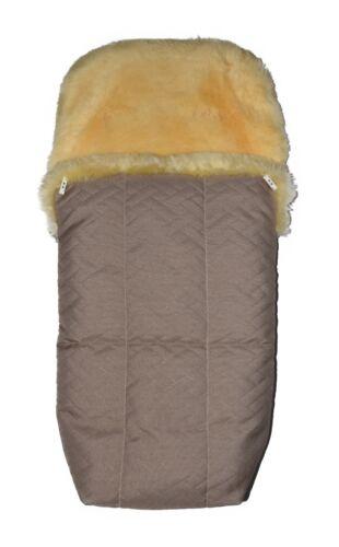 Lambskin Footmuff with waterproof outer Layer NEW Baby Australian Sheepskin