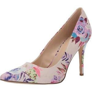 Act-Pink-Multi-Fabric-Nine-West-Pumps