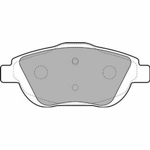 Scheibenbremse BREMBO P 61 103 passend für CITROËN OPEL DS 1 Bremsbelagsatz