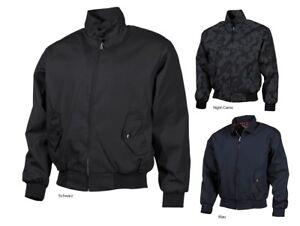 MFH-chaqueta-English-style-harrington-Karo-forraje-chaqueta-cazadora-bombarderos-s-3xl-nuevo