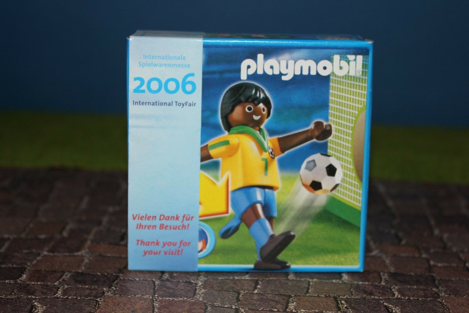 Playmobil Toy Trade Fair 2006 Brazil Promo Figurine Promotional Figure Nip