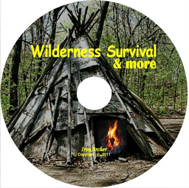 Wilderness Survival, Medicine,Fitness,Edible Plants,Sniper,Woodcraft DVD & Video