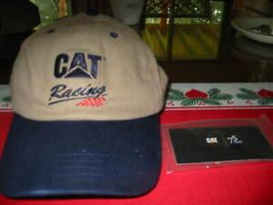 D Black CAT Caterpillar 75 Years Lapel Hat Pin