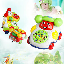 1pcs Baby Music Cartoon Phone Developmental Toys Kids Child Educational Toy Gift