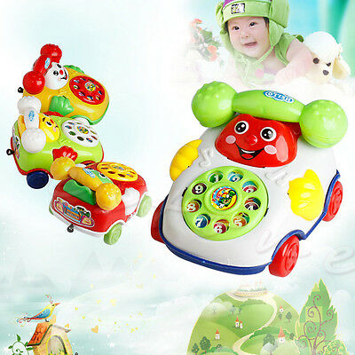 Kid Baby Learning Study Toy Music Cartoon Mobile Phone Educational Toy Gift