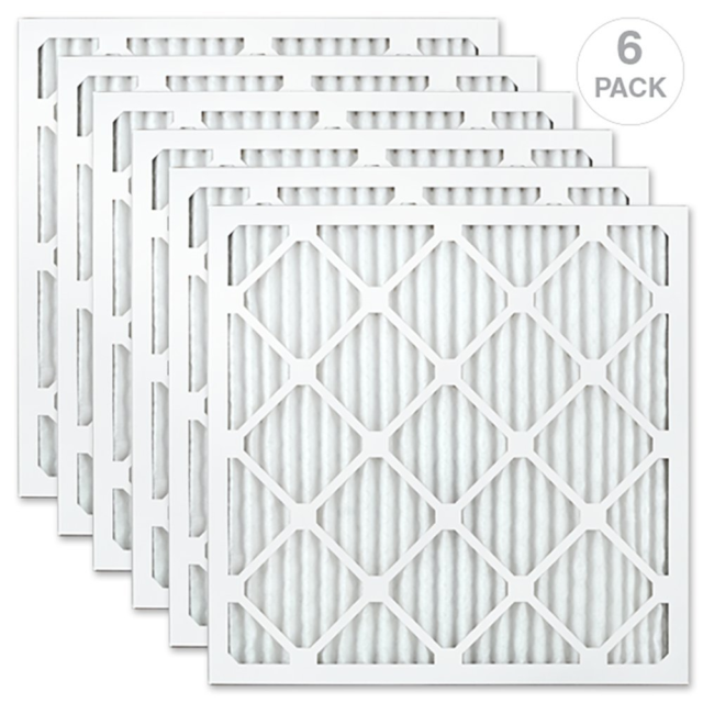 AIRx Filters 20x20x1 Air Filter MERV 8 Pleated HVAC AC Furnace Air Filter Made in the USA Dust 12-Pack
