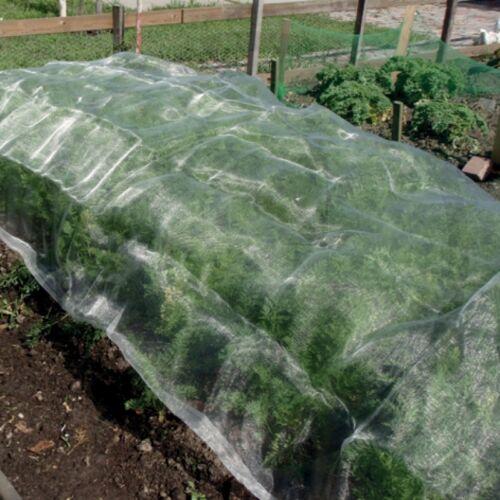 1,83 x 3 m Insektennetz Pflanzenschutz Baumschutz Netze Gemüsebeete Insekten