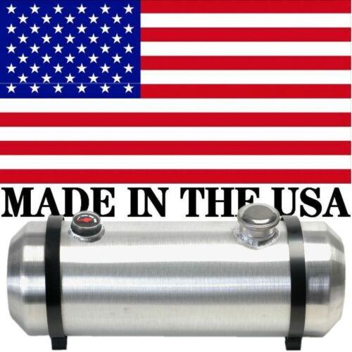 10X30 Spun Aluminum Gas Tank 9.75 Gallons W// Sight Gauge Dune Buggy End Fill