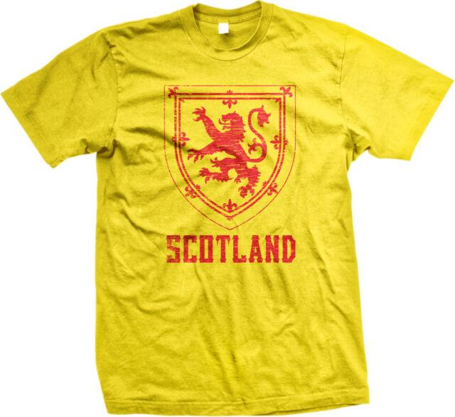 Scotland Symbol Scottish Distressed Country Born From Gaelic Scot Men/'s T-Shirt