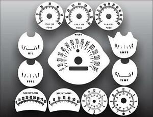 1966-Ford-Mustang-Rally-Pack-Dash-Instrument-Cluster-White-Face-Gauges