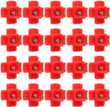 Horizontal Side Mount Poultry Water Nipples Chicken Nipple 20 Pack New