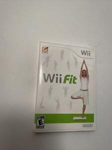 Wii Fit (Nintendo Wii) - Fitness Game - Complete w/ Manual - Tested - Free Ship